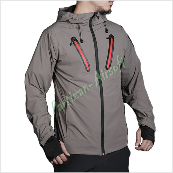 Emerson Куртка Softshell Hattori Skin Windbreaker, Gray (EMS6872G)