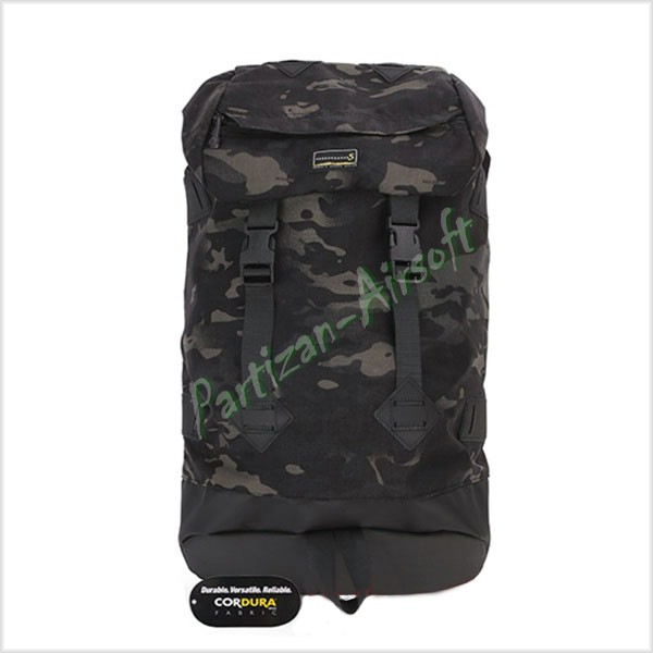 Emerson Рюкзак Ridge Round Travel Backpack 30L, Multicam Black (EMS9442MCBK)
