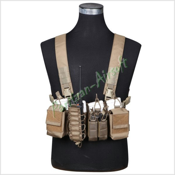 Emerson Разгрузочная система Haley Strategic D3CR Chest Rig (EM7442CB)