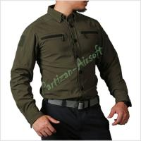 Emerson Тактическая рубашка Blue Label Defender Tac-Shirt, OD (EMB9402OD)