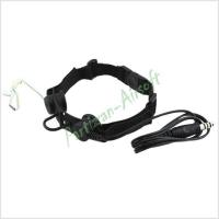 Z-Tactical Ларингофон Throat Headset Ver.1 (Z033-BK)